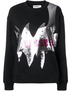 Logo sequin sweatshirt