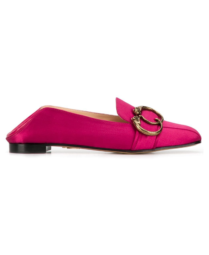 Charlotte Olympia Panther buckle loafers