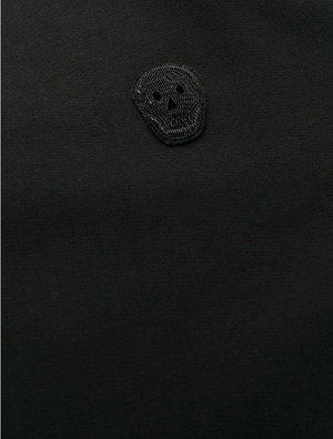 Skull patch sweatshirt