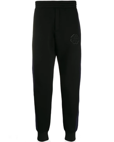 Panelled track trousers