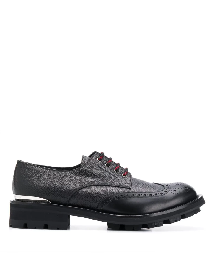 Chunky lace-up brogues