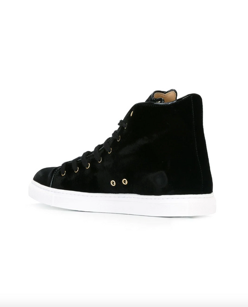 'Purrfect' hi-top sneakers