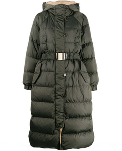 'S Max Mara Belted padded coat