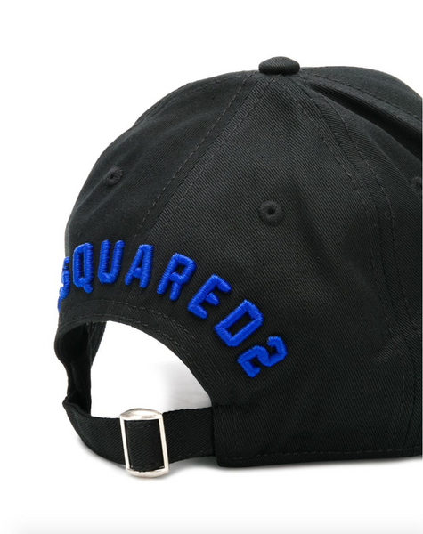 Dsquared2 'ICON' embroidered cap