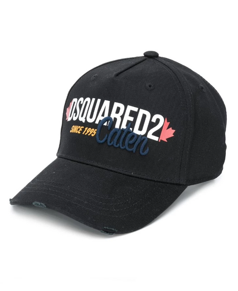 Dsquared2 Distressed baseball cap