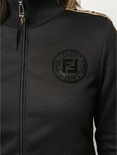 Fendi FF band track jacket