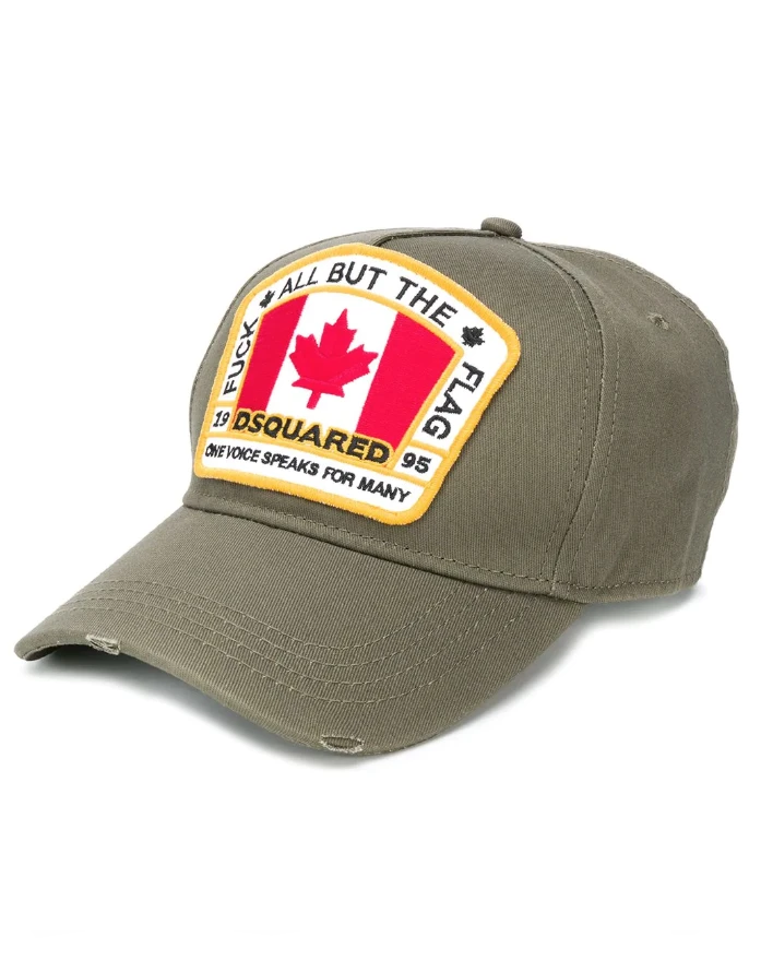 Maple Leaf patch baseball cap