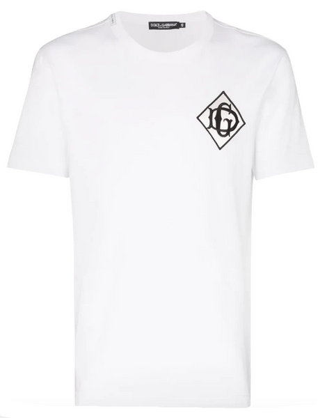 Logo patch cotton T-shirt