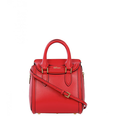 Red heroine mini tote bag