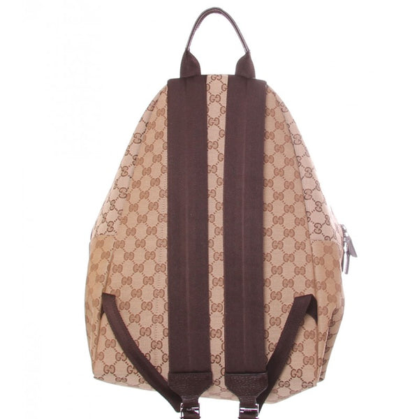 Beige & brown original GG fabric rucksack