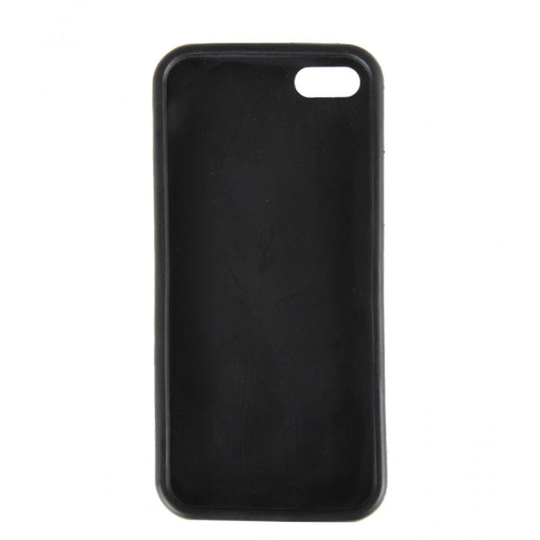 Black bio-plastic I Phone cover