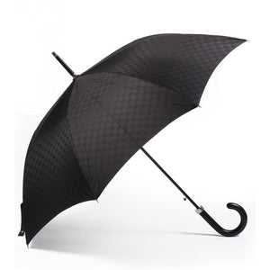 Black GG fabric umbrella