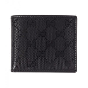 546965e08e1 Black GG Imprimé leather Bi-Fold wallet - Profile Fashion