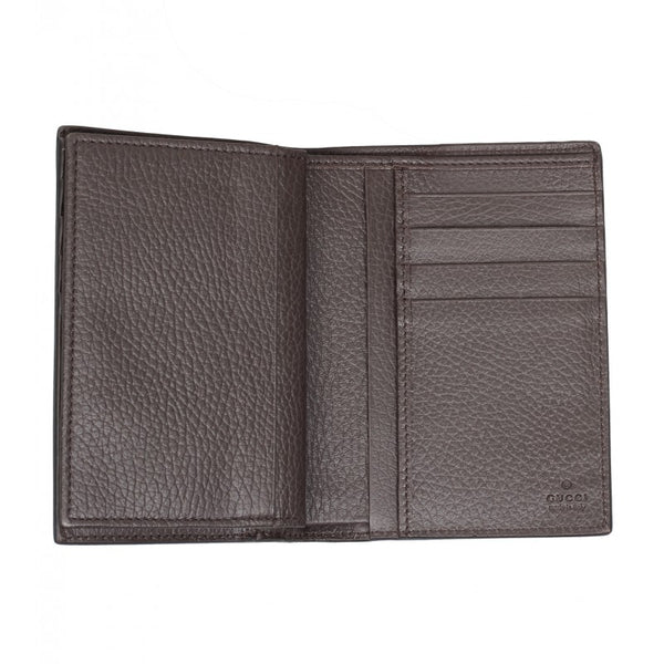 Gucci Brown calf leather wallet