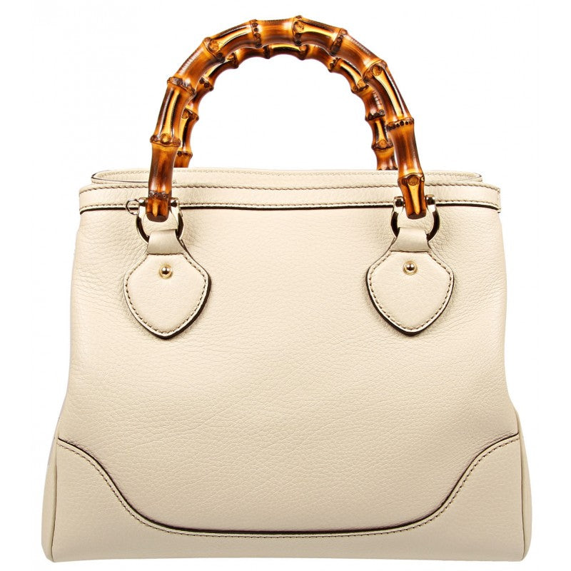 Cream leather Diana bag