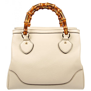 Gucci Cream leather Diana bag