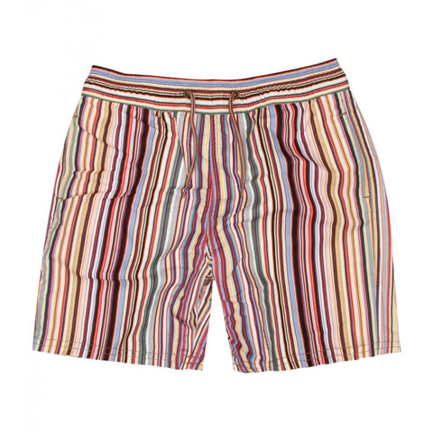 Signature multi stripe swim shorts
