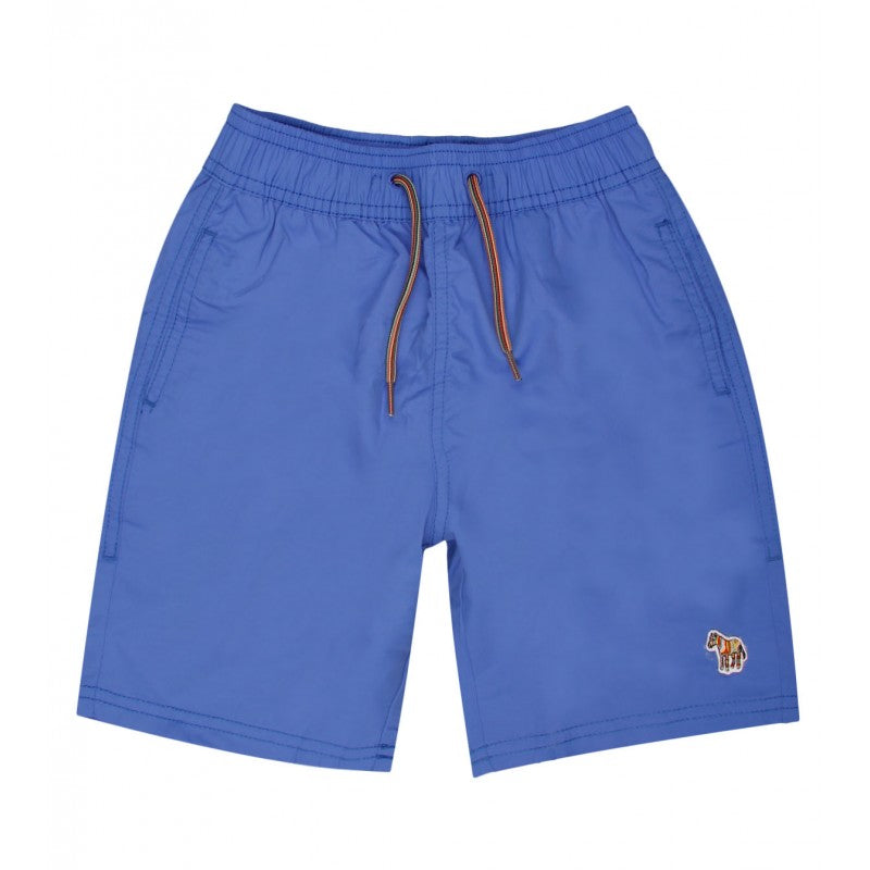 Persian blue swim shorts