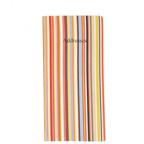 Multi stripe address book