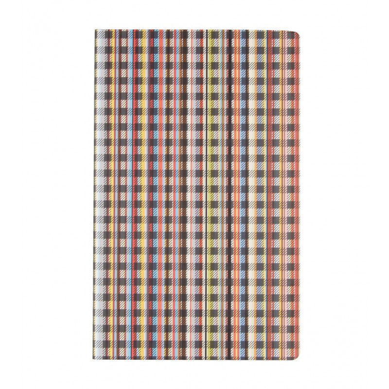 Multi-stripe medium notebook