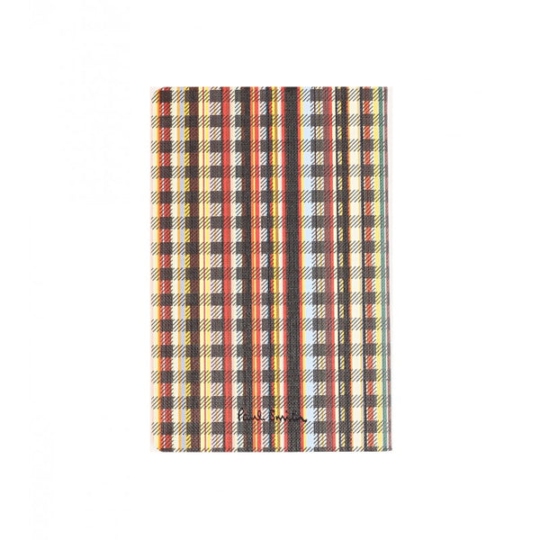 Multicoloured small mutli-stripe pocket notebook