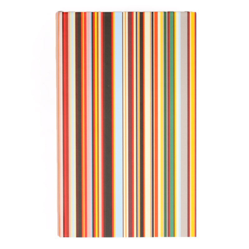 Small signature stripe notebook