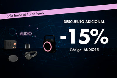 AUDIO -15% ADICIONAL