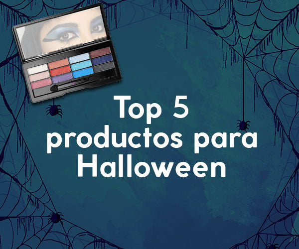 ¡Top 5 de productos esenciales para tu look de Halloween!