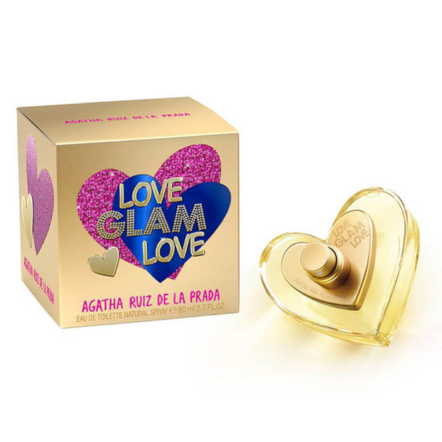 PERFUME ORIGINAL LOVE GLAM LOVE DE AGATA 80ML
