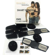 Parches Gimnasia Pasiva Electro Muscular Smart Fitness + Obs RF 440