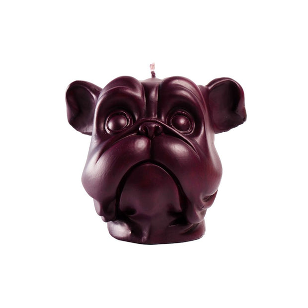Purple Dog Candle