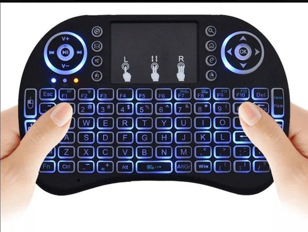 Mini teclado para smart TV Backlit 2020.