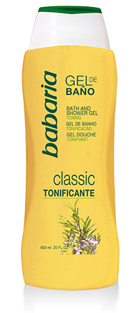 Gel clásico babaria x 600ml