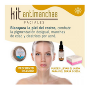 Kit AntiManchas Faciales Piel Mixta (Rosa)