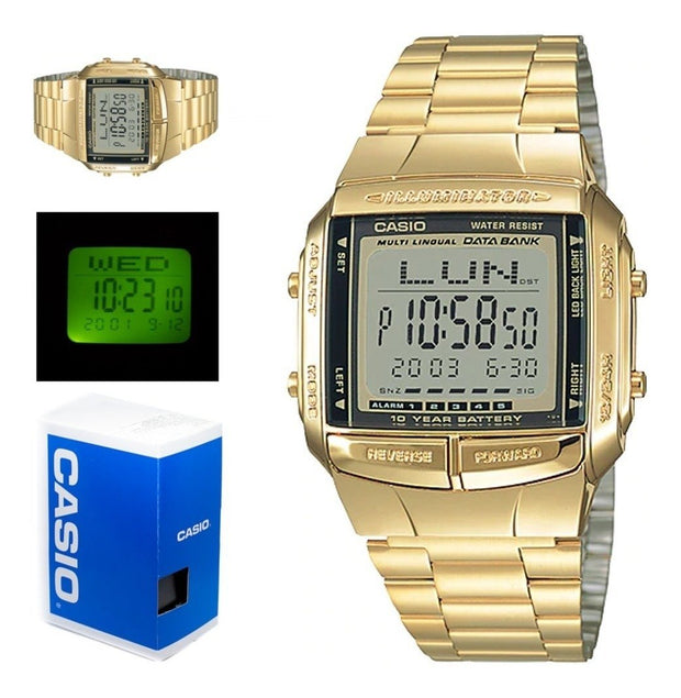 Reloj Casio Unisex Db 360g-9a Telememo Digital Original