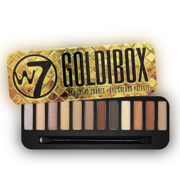 Sombras W7 Goldibox