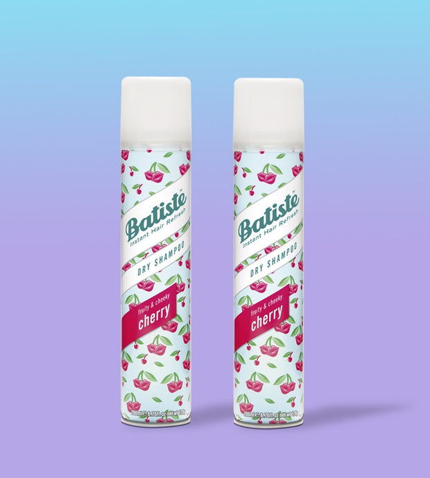Pack x2 Shampoo Seco Batiste Cherry 200ml