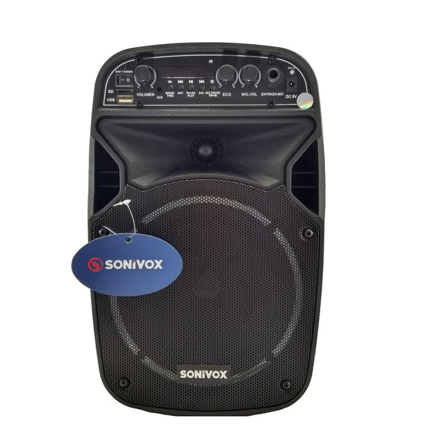 Cabina de Sonido Parlante Bluetooth Portatil Portable Recargable