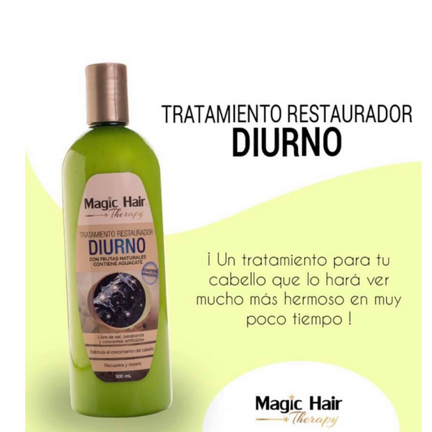 "Tratamiento Capilar MAGIC HAIR ""RESTAURADOR""  100%NATURAL"