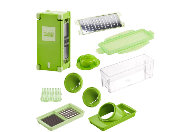Picatodo Magic Cube Procesador Alimentos Nicer Dicer