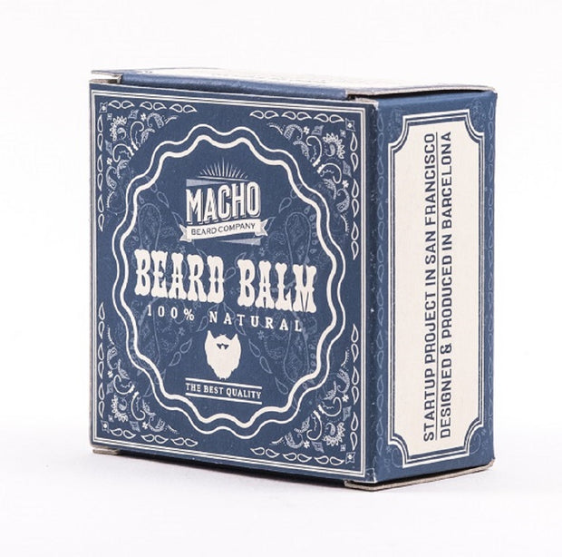 Bálsamo Para Peinar Barba Larga Macho Beard Company 100% Natural