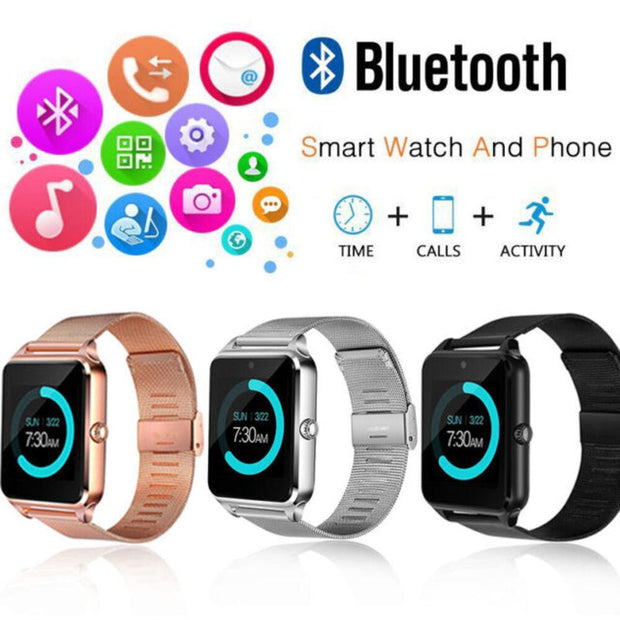 SMART WATCH Z60 RELOJ PARA LLAMADAS COLOR NEGRO
