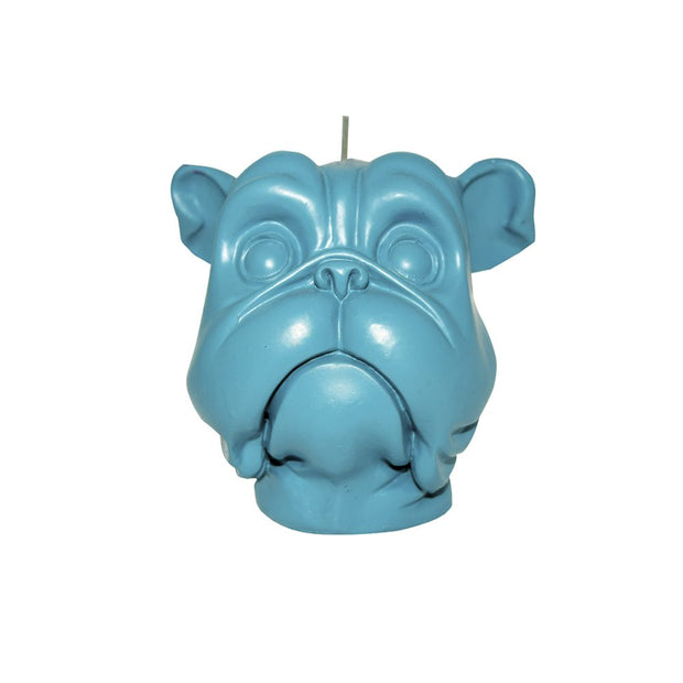 Blue Dog Candle