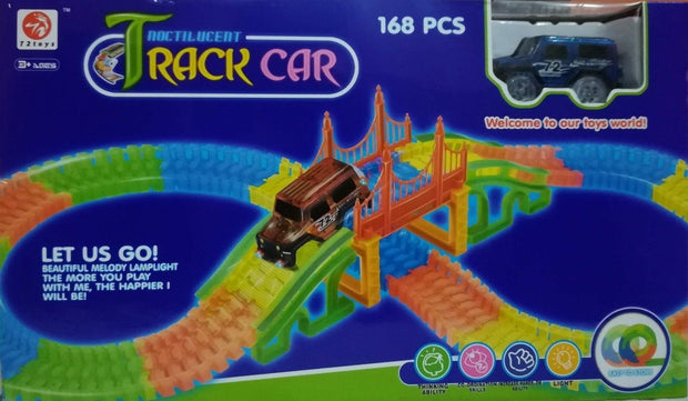 Pista Tracks Car Set 168 Piezas