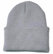 Gorro de Lana Color Gris