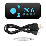Receptor a  MP3 USB para audio bluetooth