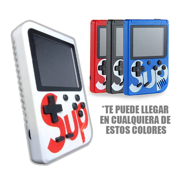 Mini Consola 400 Juegos En 1 Sup Game Retro Box + Control RF SUP400