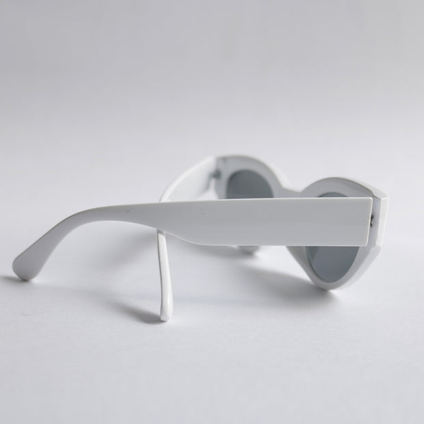 Gafas Cat eye blancas