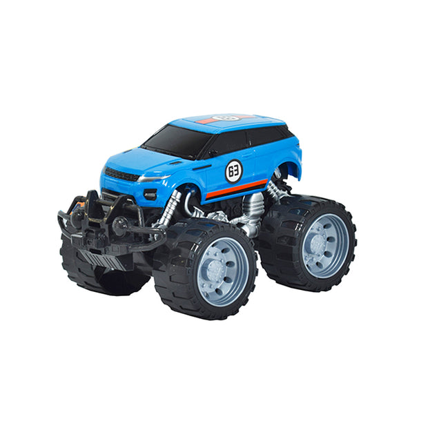 Carro Deportivo de Impulso Monster Azul 3+