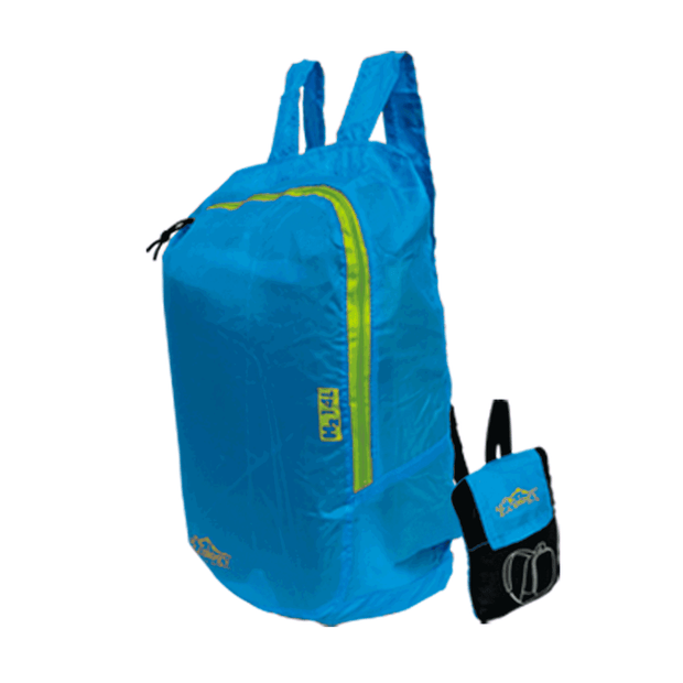 Morral De Bolsillo Plegable Ecology MOD. H2 13618 - Azul